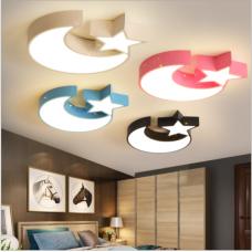 Kinderzimmer Schlafzimmerlampe kreative Cartoon Deckenlampe moderne minimalistische Zimmerlampen