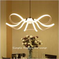 Einfache postmoderne LED-Lampe Nordic Petal kreative Lampe Schlafzimmerlampe Esszimmer Kronleuchter