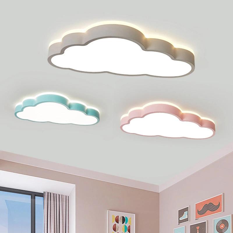 Neu LED Deckenleuchte 360 ° Beleuchtung Kreative Wolken Deckenlampe  Kinderzimmer Deckenleuchte Jungen Und Mädchen Schlafzimmer Lampe Einfache  Cartoon ...