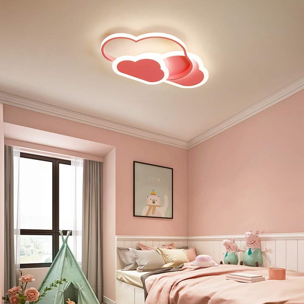 2800 lm 6500 K Jungen und M/ädchenr Mit dimmbarer Fernbedienung Kinderzimmer L42 x H6 cm 3000 Creative Cloud Deckenleuchte 32W LED Deckenleuchte Zeichenbeleuchtung f/ür Wohnzimmer