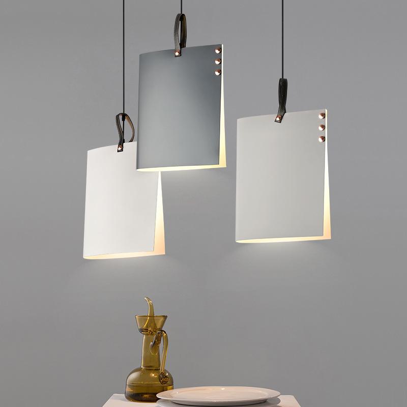 Moderne Pendelleuchte Lampenschirm Hängeleuchte LED Deckenleuchte  Beleuchtung für Wohnzimmer Schlafzimmer