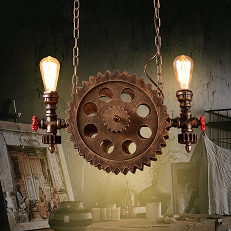 Hängeleuchten Industrielook mit Metall Lampenschirm Pendelleuchten über Esstisch